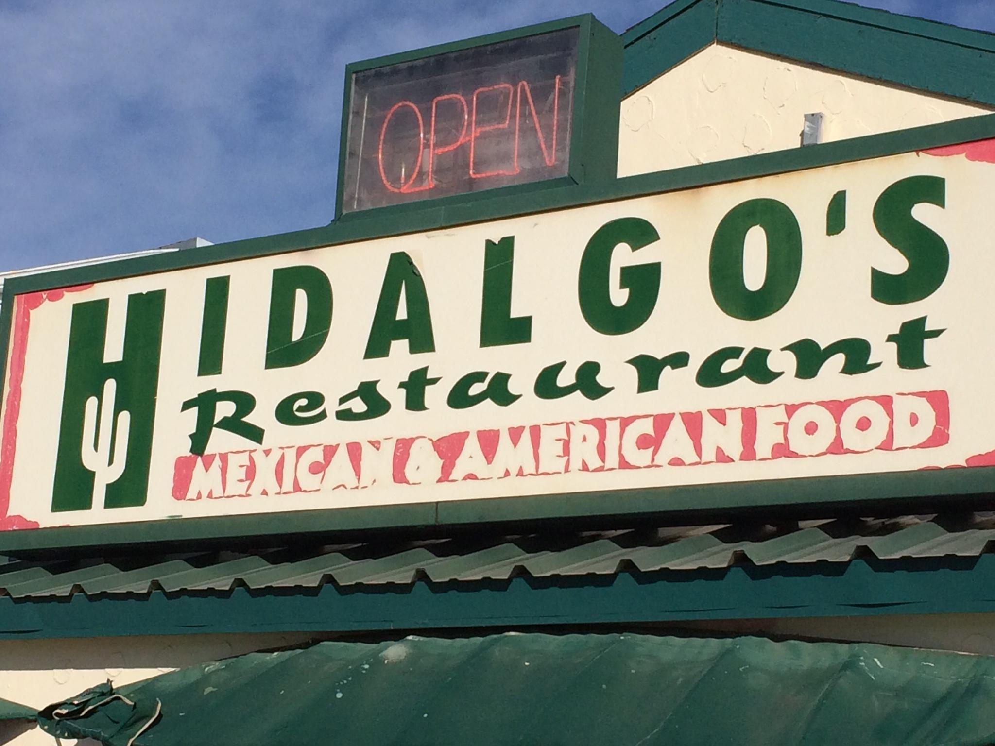 Hidalgo S Restaurant Menu San Angelo Menutex